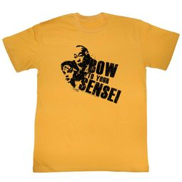 Karate Kid Shirt Bow Gold T-Shirt