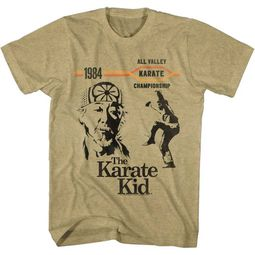 Karate Kid Shirt Crane Kick Sand Heather T-Shirt