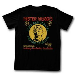 Karate Kid Shirt Home Remodeling Black T-Shirt