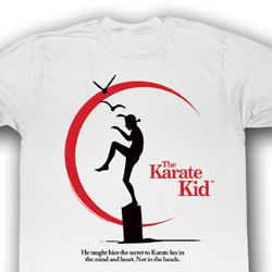 Karate Kid Shirt Karate Truth Adult White Tee T-Shirt