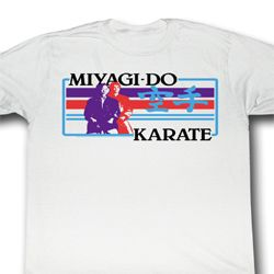 Karate Kid Shirt The Boxer Adult White Tee T-Shirt