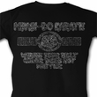 Karate Kid Shirt Worn Myagi-Do Adult Black Tee T-Shirt