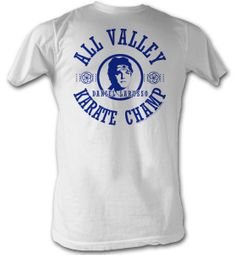 Karate Kid T-Shirt � All Valley Adult White Tee Shirt