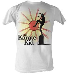 Karate Kid T-Shirt - Ninja Sun Adult White Tee Shirt