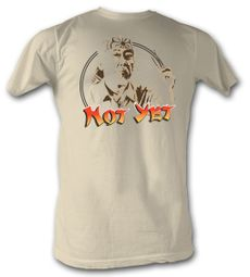 Karate Kid T-Shirt - Not Yet Adult Dirty White Tee Shirt