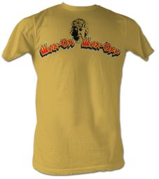 Karate Kid T-Shirt - Wax On Wax Off Adult Yellow Tee Shirt