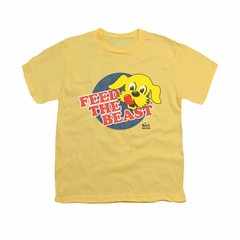 Ken L Ration Shirt Kids Feed The Beast Banana T-Shirt