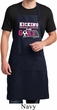 Kicking Breast Cancer is Our Goal Full Length Apron with Pockets