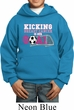 Kicking Breast Cancer is Our Goal Kids Hoody