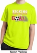 Kicking Breast Cancer is Our Goal Kids Moisture Wicking Shirt