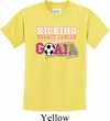 Kicking Breast Cancer is Our Goal Kids Shirt