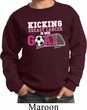 Kicking Breast Cancer is Our Goal Kids Sweat Shirt