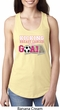 Kicking Breast Cancer is Our Goal Ladies Ideal Tank Top