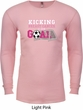 Kicking Breast Cancer is Our Goal Long Sleeve Thermal