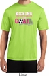 Kicking Breast Cancer is Our Goal Mens Moisture Wicking Shirt