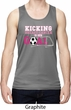 Kicking Breast Cancer is Our Goal Mens Moisture Wicking Tanktop