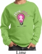 Kids Breast Cancer Awareness Sweatshirt Think Pink Sweat Shirt