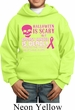 Kids Breast Cancer Hoodie Halloween Scary Breast Cancer Deadly Hoody