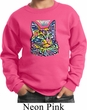 Kids Cat Sweatshirt Love Cat Youth Sweat Shirt