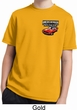 Kids Dodge American Made Muscle Pocket Print Moisture Wicking Shirt