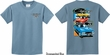 Kids Dodge Challenger Trio (Front & Back) Youth T-shirt
