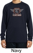 Kids Dodge Garage Hemi Moisture Wicking Long Sleeve Shirt