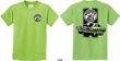 Kids Dodge Green Super Bee (Front & Back) Youth T-shirt