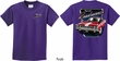 Kids Dodge Plymouth Roadrunner (Front & Back) Youth T-shirt