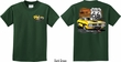 Kids Dodge Route 66 Charger RT (Front & Back) Youth T-shirt