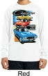 Kids Dodge Shirt Challenger Trio Dry Wicking Long Sleeve Tee T-Shirt