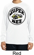 Kids Dodge Shirt Super Bee Dry Wicking Long Sleeve Tee T-Shirt