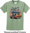 Kids Dodge Tee Blue and Orange Super Bee Youth Shirt