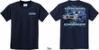 Kids Dodge Tee Blue Charger (Front & Back) Youth T-shirt