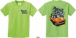 Kids Dodge Tee Plymouth Cuda (Front & Back) Youth T-shirt