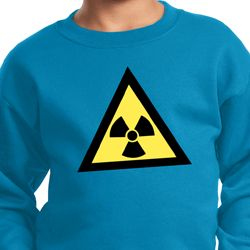 Kids Fallout Sweatshirt Radioactive Triangle Sweat Shirt