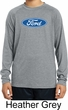 Kids Ford Oval Dry Wicking Long Sleeve Shirt