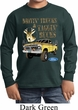 Kids Ford Shirt Driving and Tagging Bucks Long Sleeve Shirt