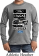 Kids Ford Shirt F-150 Truck Long Sleeve Shirt