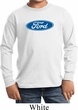 Kids Ford Shirt Ford Oval Long Sleeve Tee T-Shirt