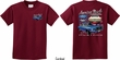 Kids Ford Tee 1967 Mustang (Front & Back) Youth T-shirt