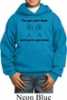 Kids Funny Hoodie I've Got Your Back Hoody