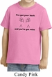 Kids Funny Shirt I've Got Your Back Toddler Tee T-Shirt