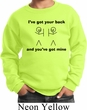Kids Funny Sweatshirt I've Got Your Back Sweat Shirt
