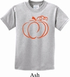 Kids Halloween Tee Pumpkin Sketch Youth T-shirt