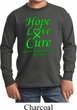 Kids Lymphoma Cancer Hope Love Cure Youth Long Sleeve