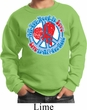 Kids Peace Sweatshirt All You Need is Love Sweat Shirt
