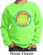 Kids Peace Sweatshirt Psychedelic Peace Sweat Shirt