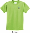 Kids Pineapple Patch Pocket Print Youth T-shirt
