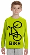 Kids Safety Color Long Sleeve Cycle Shirt