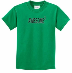Kids Shirts Awesome Cubed Tee T-Shirt
